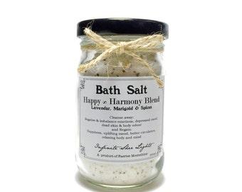 BATH SALT - Happy & Harmony Blend