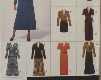 Vintage Vogue  Easy Options Pattern #2074 size 20-22-24