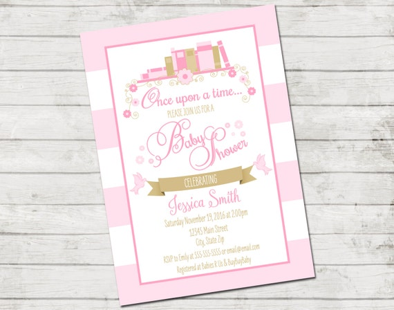 Storybook baby shower invitation book baby shower storybook il570xn filmwisefo