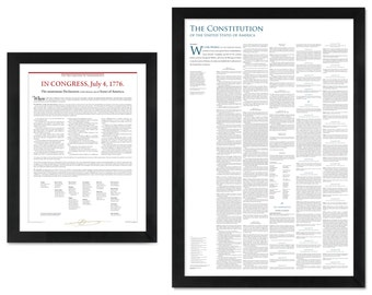 America's Founding Documents Bundle: The Declaration of Independence + the Constitution + the Bill of Rights