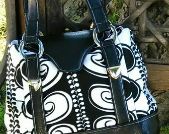 Expandable Handbag or Medium Tote