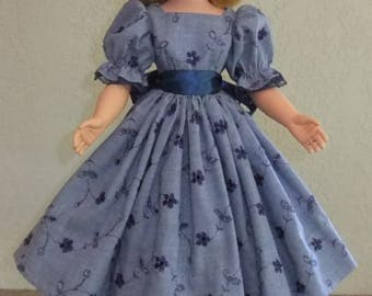 "Day dress for 20"" Madame Alexander Cissy, Sweet Sue, Miss Revlon, Dollikins"