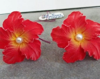Vintage Earrings by Western Germany