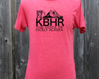 Northern Exposure  KBHR Radio Screenprinted Shirt