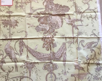 French Country Toile pattern Kininvie by Brunschwig and fils fabric