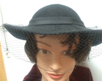 Period costume wool hat