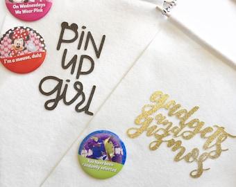 Pin Up Girl Banner Pin Trading Pin Collecting Pin Display Pin Collector