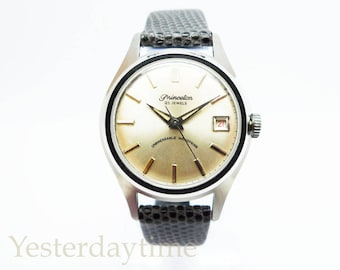 Princeton Men's Watch 1950's Swiss Made 21 Jewel Manual Movement