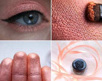 Eyeshadow: Gourmand - MoonElf. Salmon satin eyeshadow by SIGIL inspired.