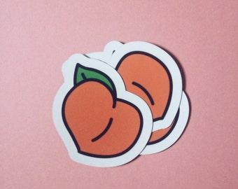 Peach Butt Magnet