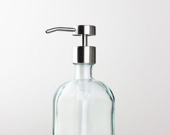 Bungalow Recycled Glass Soap Dispenser