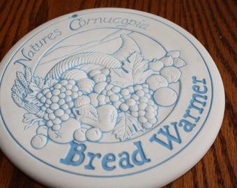 Vintage Porcelain Bread & Bun Warmer made by Heartland Studios, USA