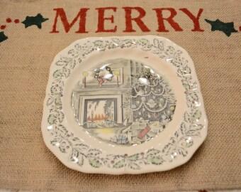 Rustic Burlap Christmas Placemats