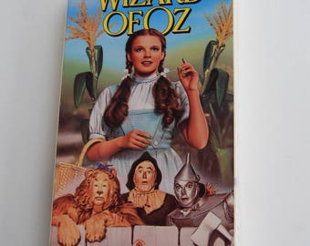 Retro VHS Tape: The Wizard of Oz