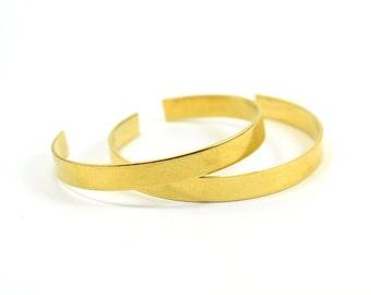 """3 Pcs . Bracelet Brass Blanks  Raw Brass 16 Gauge (1.20 mm Thick ) 13/32""""x6"""" (10x150 mm )"""