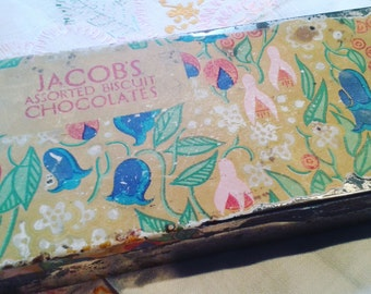 Vintage Jacobs Chocolate Biscuit Tin