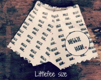LITTLEFEE undershorts:  Limited Edition meggie made brand