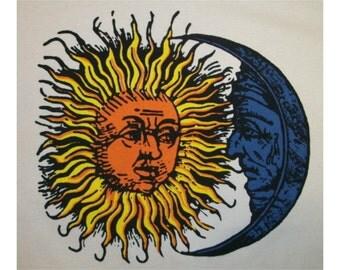 Retro Classic Sun / Moon T-Shirt