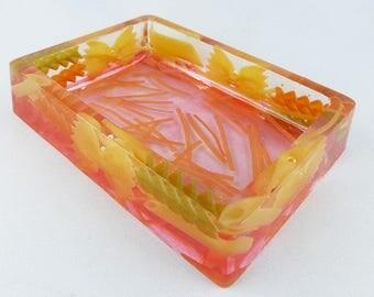 Bowl, jewelry box, storage, resin, tray