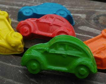 Car Crayons set of 80 - Party Favors - Classic Cars - Cars Party