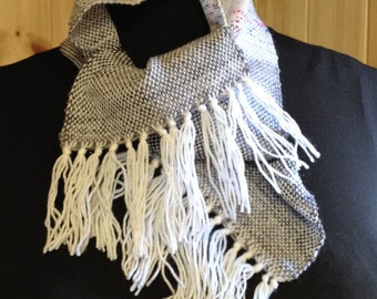 Hand Woven Cravat Cowl Style Scarf