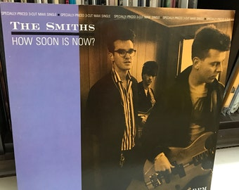 "The Smiths - ""How Soon Is Now?"" vinyl record, 12"", 45 RPM, Single"