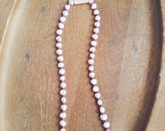 Light pink Freshwater Pearl Necklace