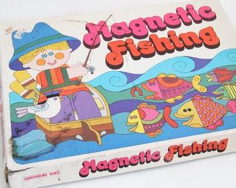 Vintage Magnetic Fishing game in original box