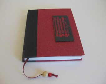 Travel Diary Scetchbook Bookmark Handbound Journal