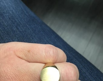 Signet Ring 14kt Yellow Gold (solid)