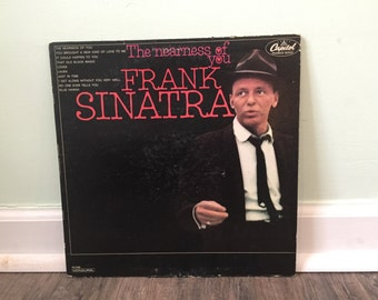 "Frank Sinatra ""The Nearness of You"" vinyl record"
