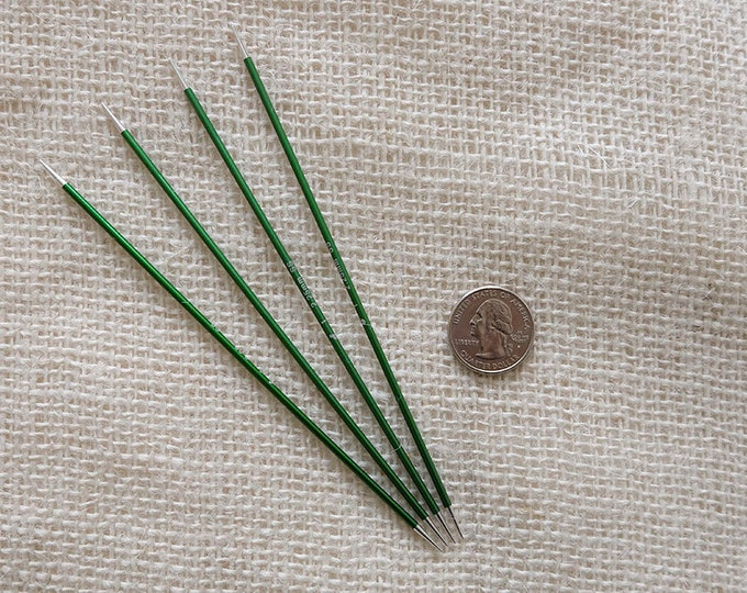 "Signature Needles Size 1 - Stiletto Tip -  needle is 6"" long - set of 4"