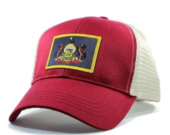 Homeland Tees Pennsylvania Flag Hat - Trucker