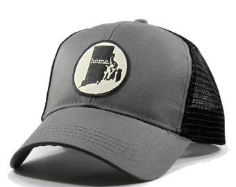 Homeland Tees Rhode Island Home State Trucker Hat