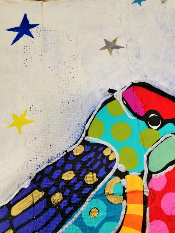 Bird Painting Pop Art Pop Art Painting Bird Pop Art