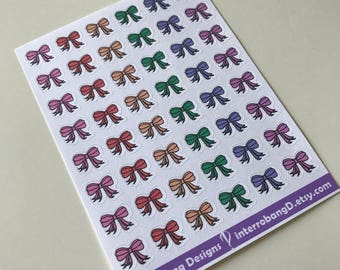 A119 - Cute Bows - Planner Stickers