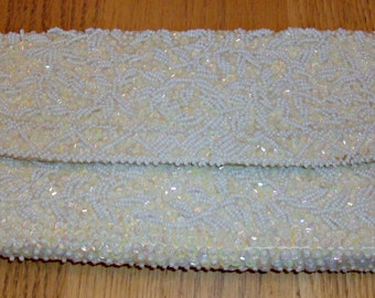 Vintage Beaded and Pearl Clutch