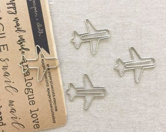 Midori D-Clips Paper Clips - Airplanes (Small)