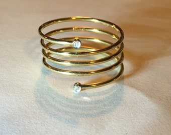 14Kt Wire Wrapped Ring
