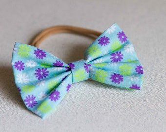 Flower Spring Bow & Bow tie
