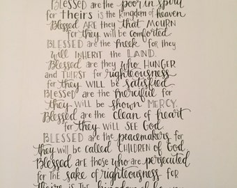 The Beatitudes Print