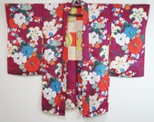 Japanese antique haori wi...