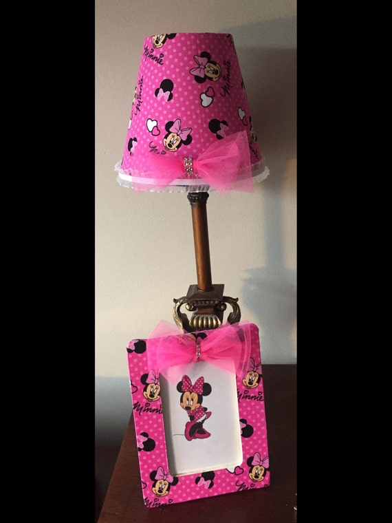 minnie mouse lamp shade. Black Bedroom Furniture Sets. Home Design Ideas