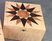 """7"""" Mariner's compass box"""