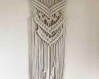 Chunky Rope Wall Hanging