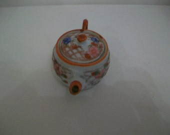 Miniature Chinese or Japanese teapot, c. 1950s