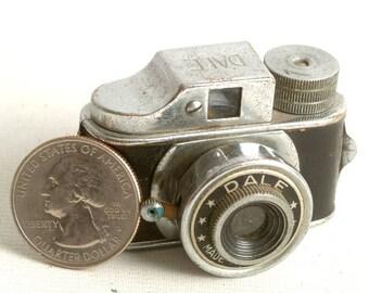 Vintage Miniature Camera, Vintage Spy Camera, Dale Camera,  Subminiature WWII Camera, Mini Film Camera C1131