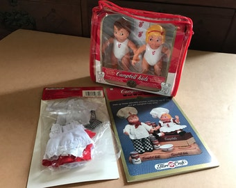 Campbell's Soup Kids - Dolls, Clothes, Crochet Pattern, 1994 collectibles