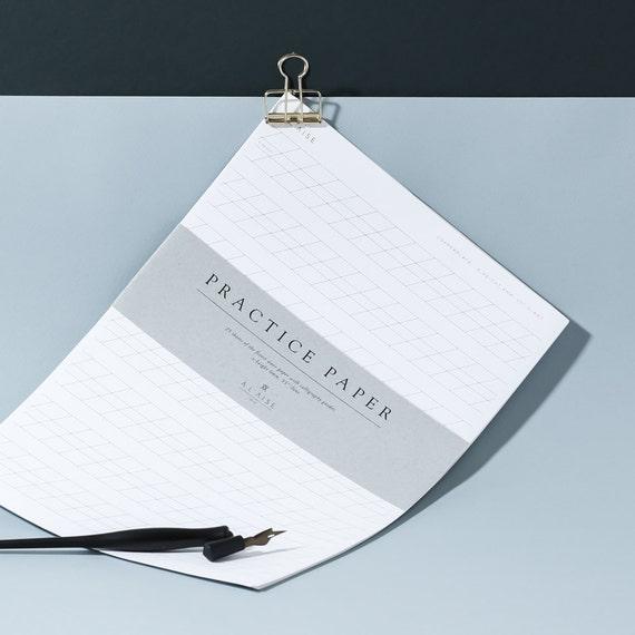 Calligraphy Practice Paper