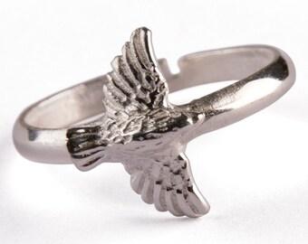 Bird Silver Ring 475